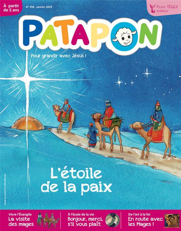PATAPON JANVIER 2019 N 458 - L'ETOILE DE LA PAIX