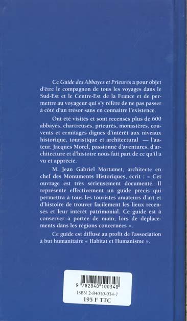 Guide des abbayes et des prieures