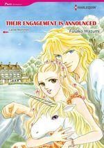 Vente Livre Numérique : Harlequin Comics: Their engagement is announced  - Carole Mortimer - Fusako Wazumi