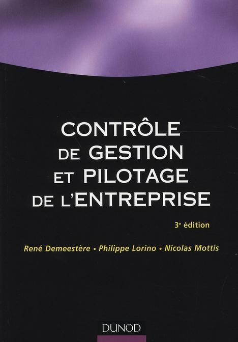 Contrôle de gestion et pilotage de l'entreprise (3e édition)
