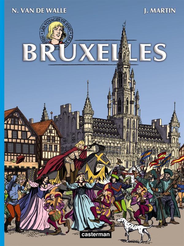 Les voyages de Jhen ; Bruxelles