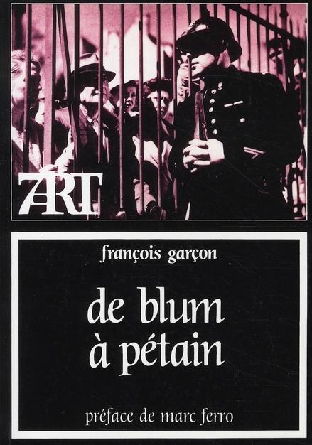 de Blum à Pétain