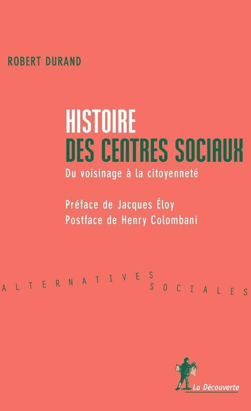 Histoire des centres sociaux ne