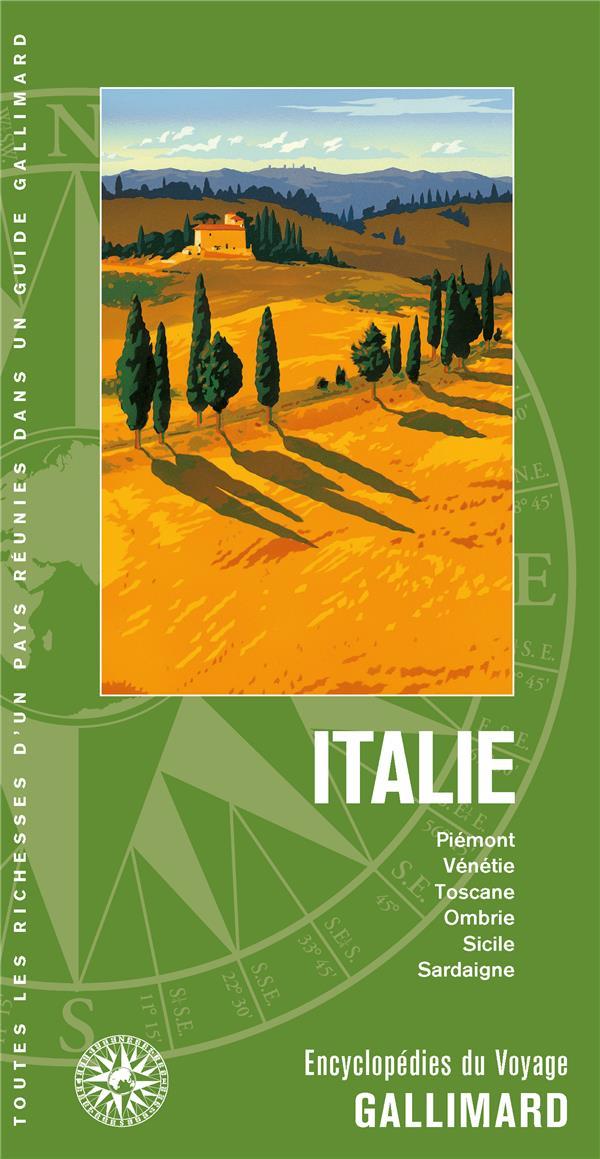 Italir ; Piémont, Vénétie, Toscane, Ombrie, Sicile, Sardaigne