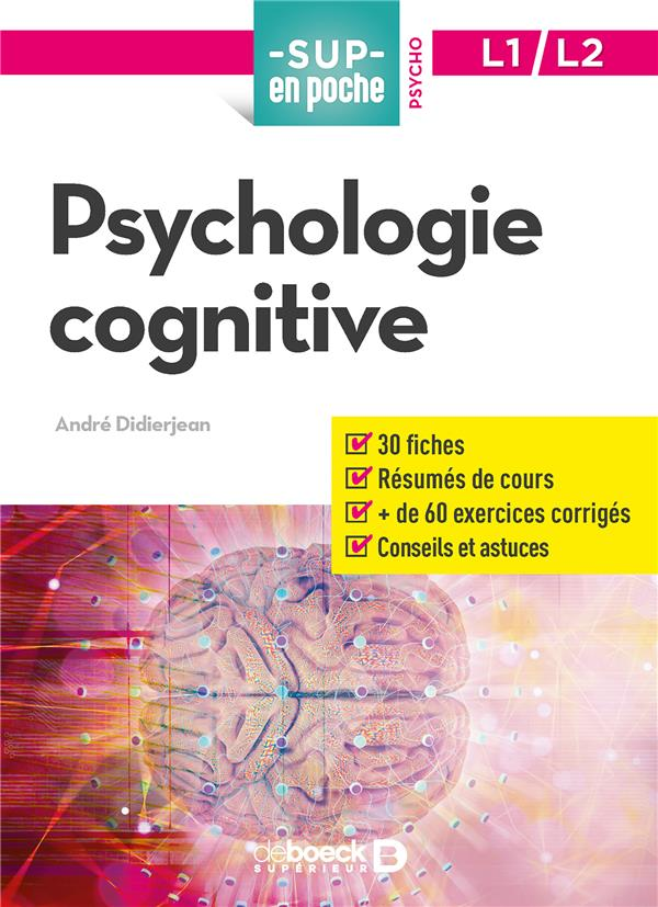 Sup en poche ; psychologie cognitive