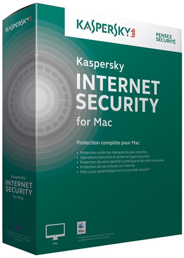 kaspersky internet security pour Mac 2015