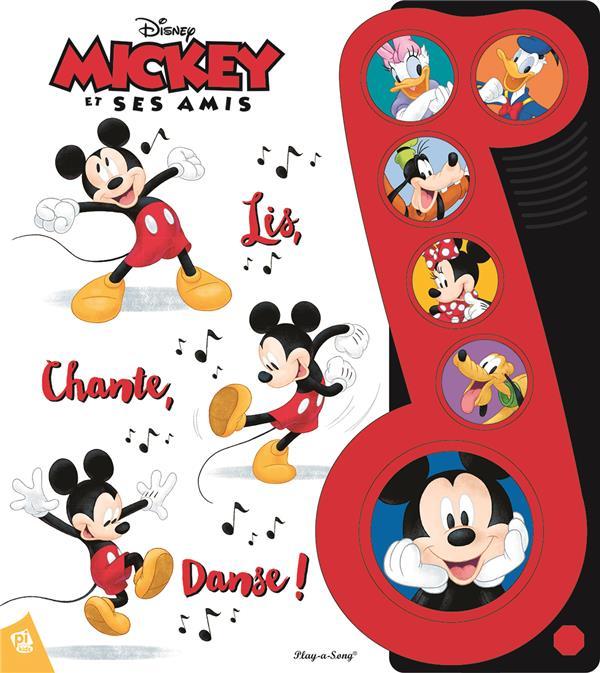 Mickey lis chante danse pi kids grand format librairie ecosph re - Danse de mickey ...