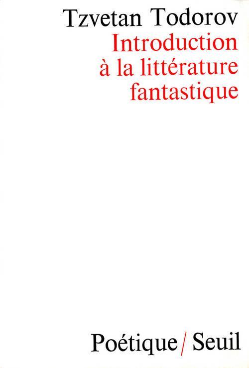 REVUE POETIQUE ; introduction à la littérature fantastique