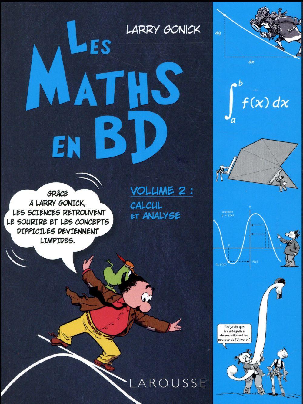 Les maths en BD t.2 ; calcul et analyse