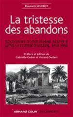 Vente EBooks : La tristesse des abandons - Élisabeth Schmidt  - Vincent Duclert - Gabrielle Cadier