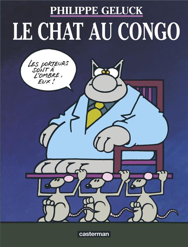 Le Chat T.5 ; le chat au Congo