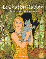 Couverture de Le Chat Du Rabbin - T08 - Le Chat Du Rabbin  - Petit Panier Aux Amandes