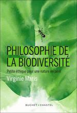 Couverture de Philosophie de la biodiversité