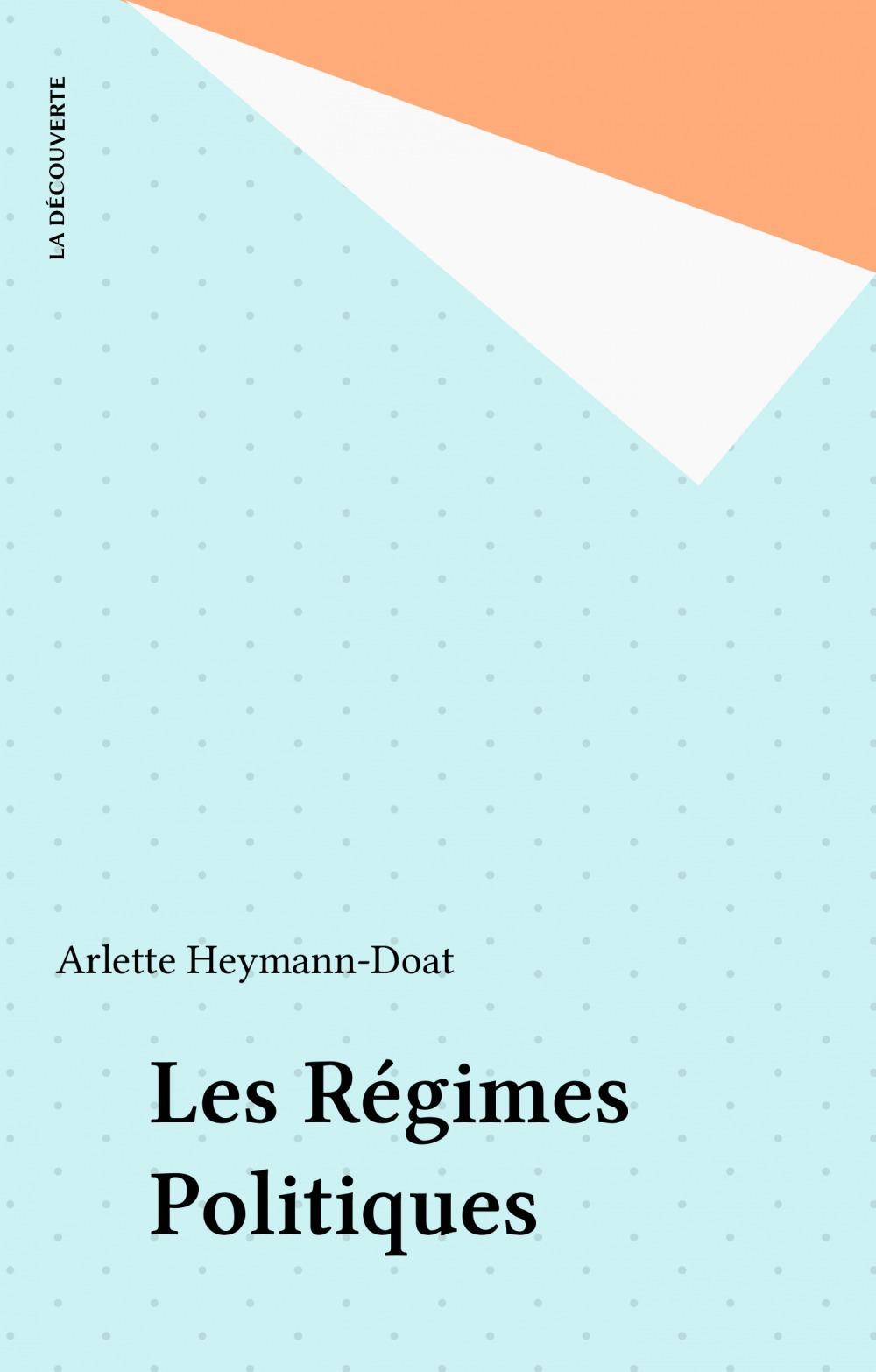Les regimes politiques
