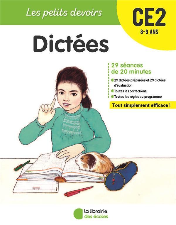 Les petits devoirs ; dictées ; CE2 ; 8/9 ans