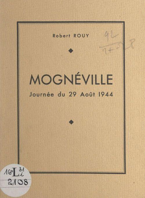 Mognéville  - Robert Rouy