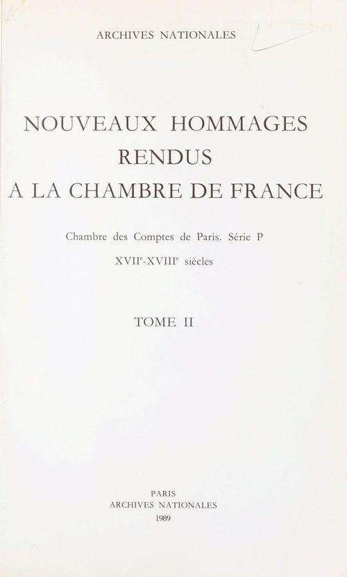 Nouveaux hommages rendus à la Chambre de France (2)