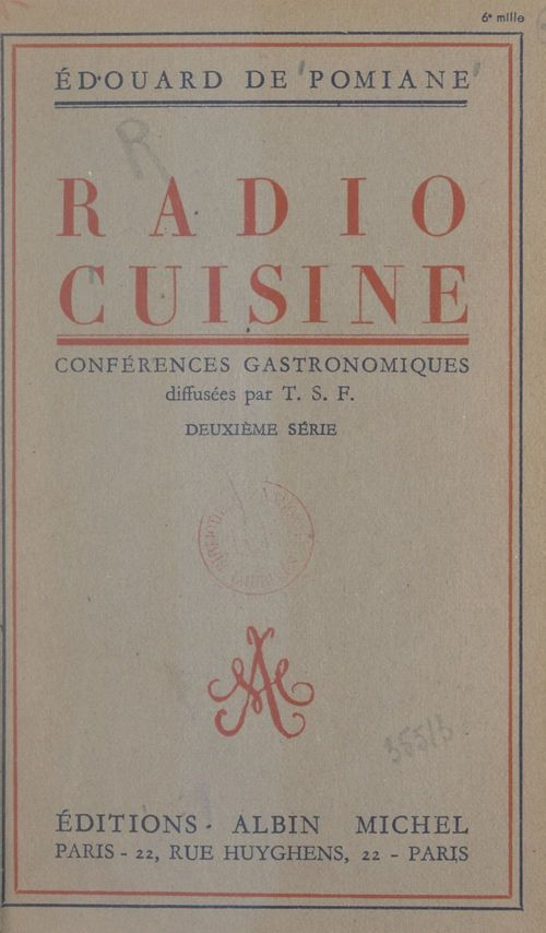 Radio-cuisine