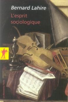 L'esprit sociologique