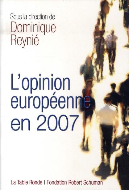 L'opinion européenne en 2007