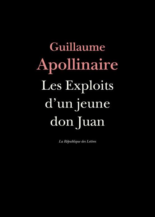 Les Exploits d'un jeune don Juan  - Guillaume Apollinaire