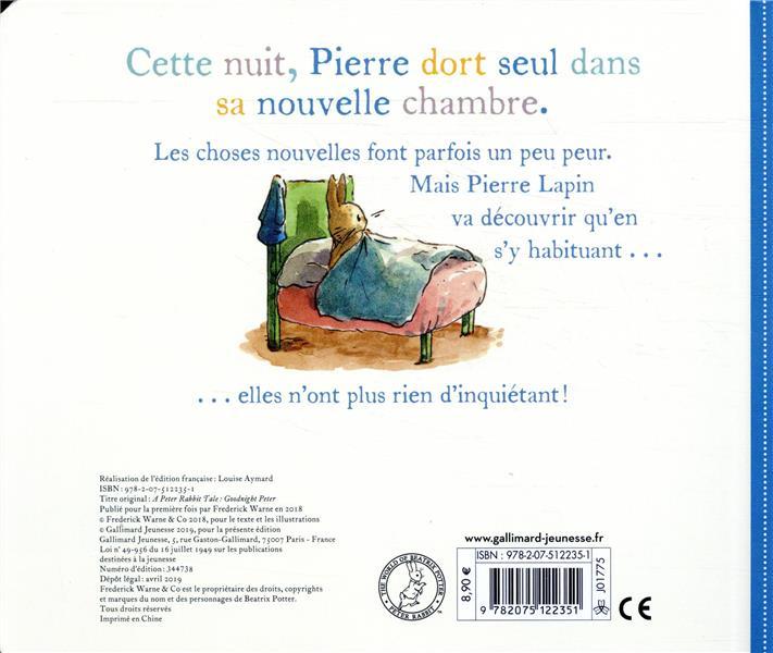 Bonne nuit, Pierre ; un conte de Pierre Lapin