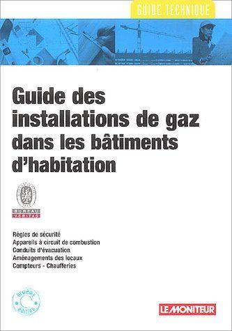Guide Des Installations De Gaz Dans Les Batiments D'Habitation