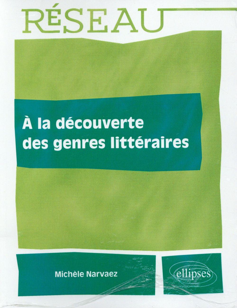 à la découverte des genres littéraires