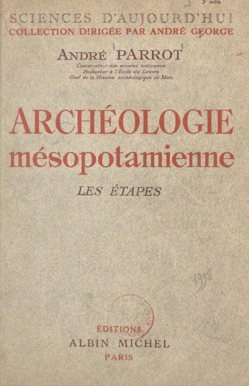 Archéologie mésopotamienne