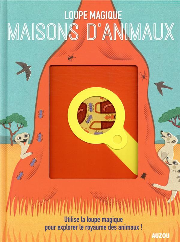 MAISONS D'ANIMAUX  -  UTILISE LA LOUPE MAGIQUE POUR EXPLORER LE ROYAUME DES ANIMAUX !