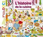 Vente Livre Numérique : L'histoire de la cuisine du mammouth à la pizza  - Stéphane Frattini - Stéphanie Ledu