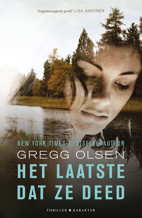 Het laatste dat ze deed - Gregg Olsen - ebook