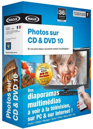 Magix photo sur CD & DVD 10