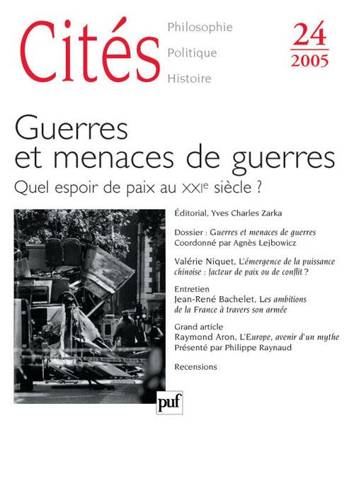 Revue Cites T.24; Geopolitique Des Conflits Actuels (Edition 2005)