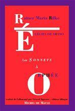 élégies de Duino ; sonnets à Orphée
