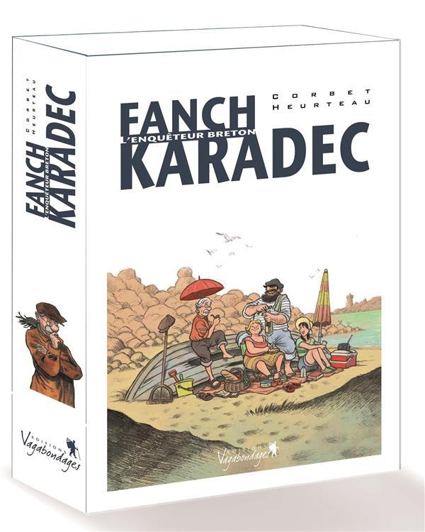 COFFRET FANCH KARADEC - L'ENQUETEUR BRETON SEBASTIEN CORBET