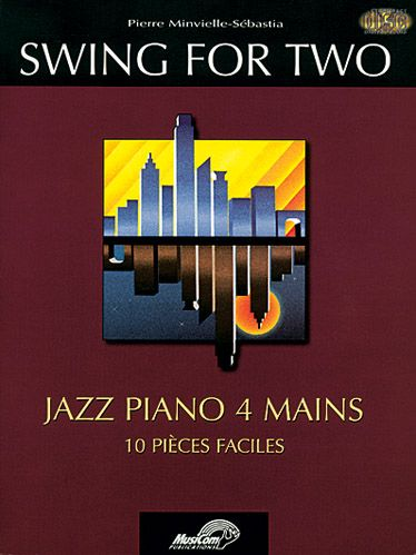 Blues for two ; jazz piano 4 mains, 10 pièces faciles