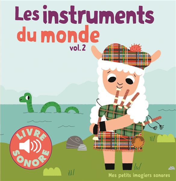 LES INSTRUMENTS DU MONDE (TOME 2) - 6 IMAGES A REGARDER, 6 SONS A ECOUTER Billet Marion