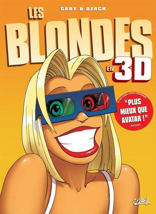 Les blondes HORS-SERIE T.5 ; best of en 3D t.1