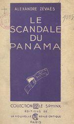 Le scandale du Panama  - Alexandre Zévaès