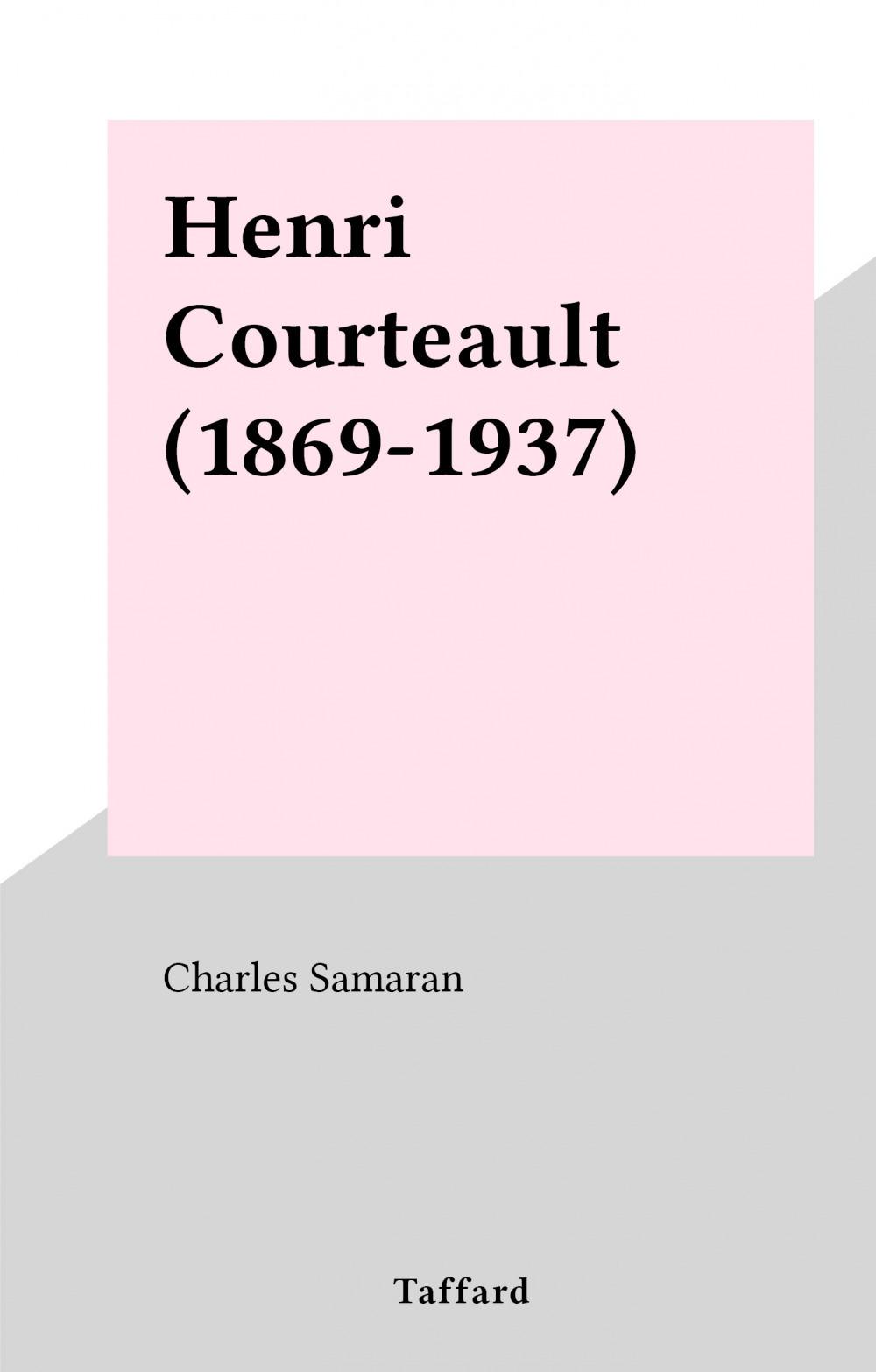 Henri Courteault (1869-1937)