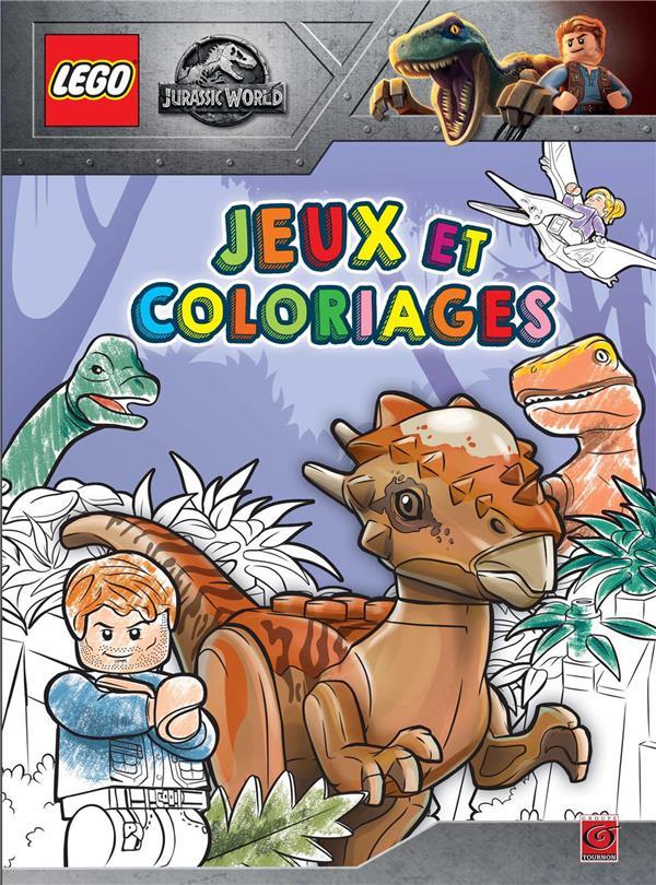 Lego - Jurassic World ; jeux et coloriages