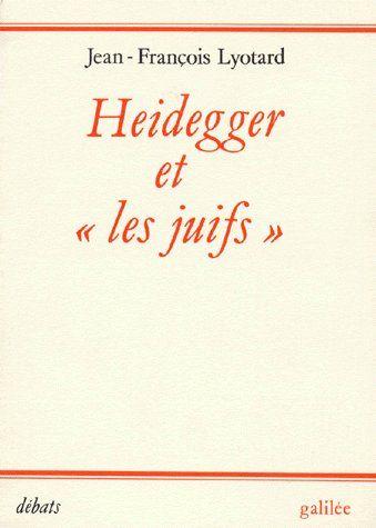 Heidegger et «les juifs»