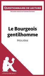 Vente Livre Numérique : Le Bourgeois gentilhomme de Molière  - Fabienne Gheysens - lePetitLittéraire.fr - lePetitLittéraire