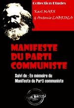 Vente EBooks : Manifeste du Parti communiste suivi de En mémoire du Manifeste du Parti communiste  - Karl MARX - Antonio Labriola