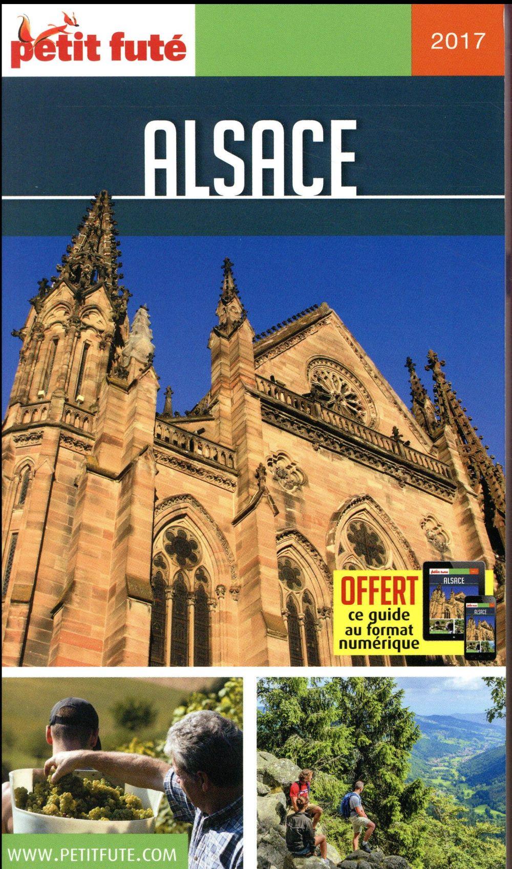 GUIDE PETIT FUTE ; REGION ; Alsace (édition 2017)