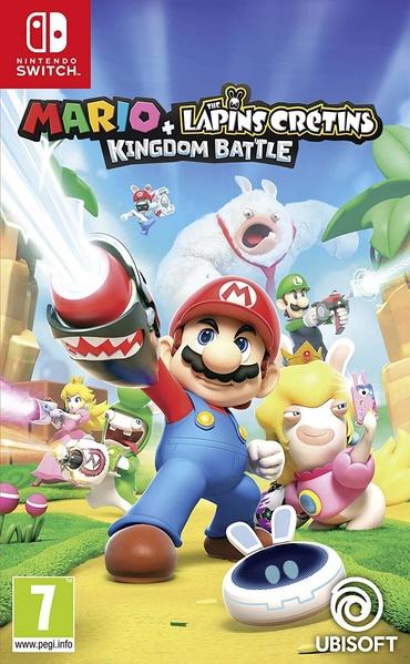 Mario + The Lapins Crétins: kingdom battle