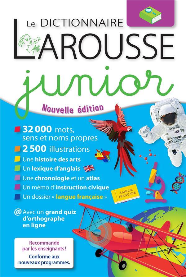 Le dictionnaire Larousse junior