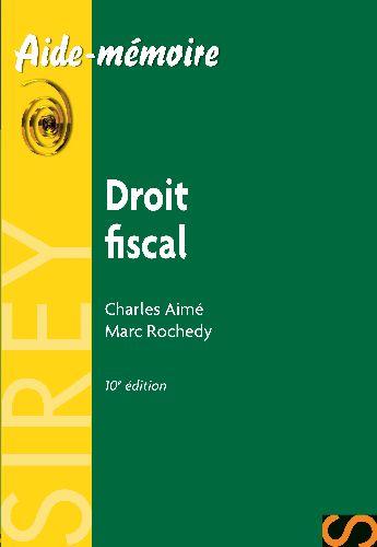Droit fiscal (10e édition)