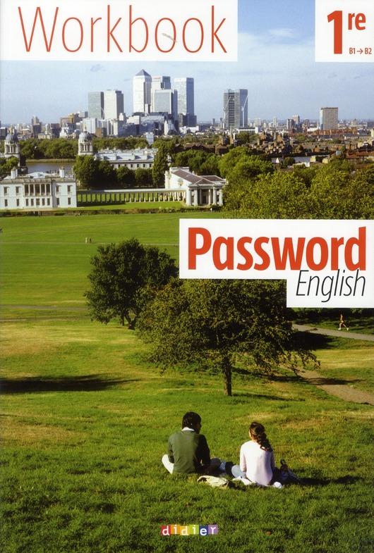 Password English; Anglais ; 1ere ; Workbook